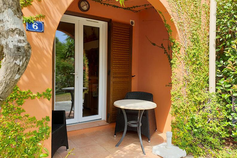 Appartement A MERULA residence vacance à Calvi.